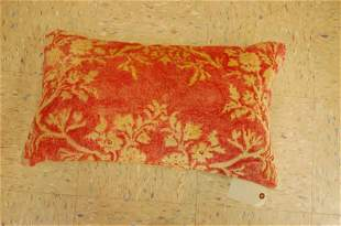 """Hand Made of antique rug Pillow Cushion Rug 1'6"""" x"""