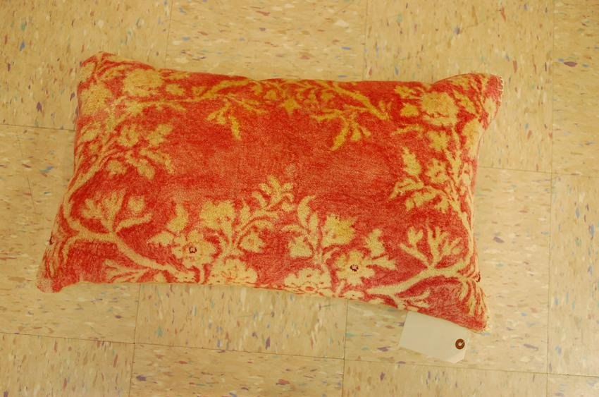 "Hand Made of antique rug Pillow Cushion Rug 1'6"" x"