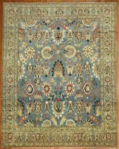 Blue Antique 19th Century Tabriz Rug