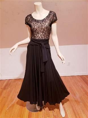 1930 ballroom Dance gown