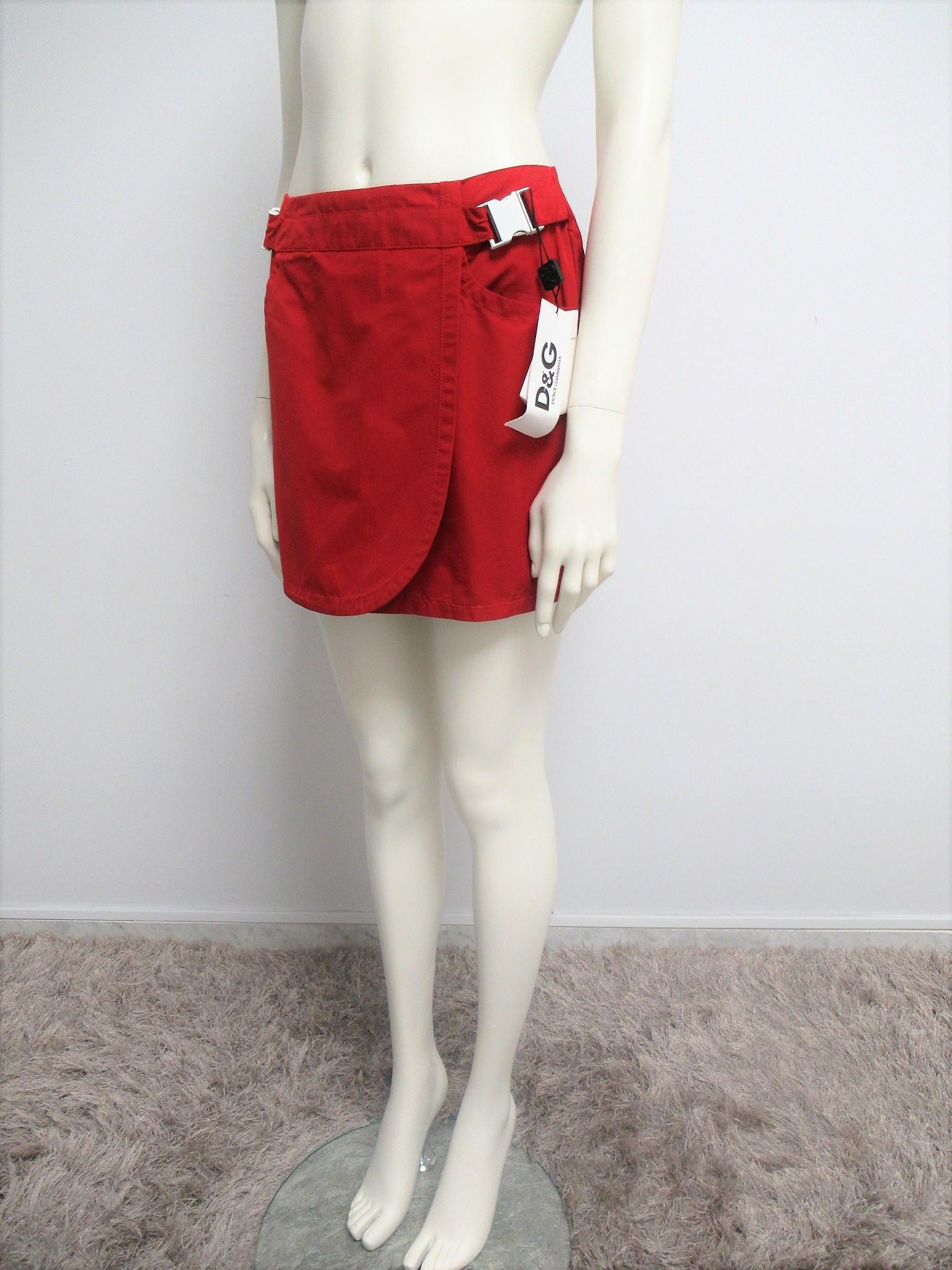 """D&G"" miniskirt in technical fabric size S"