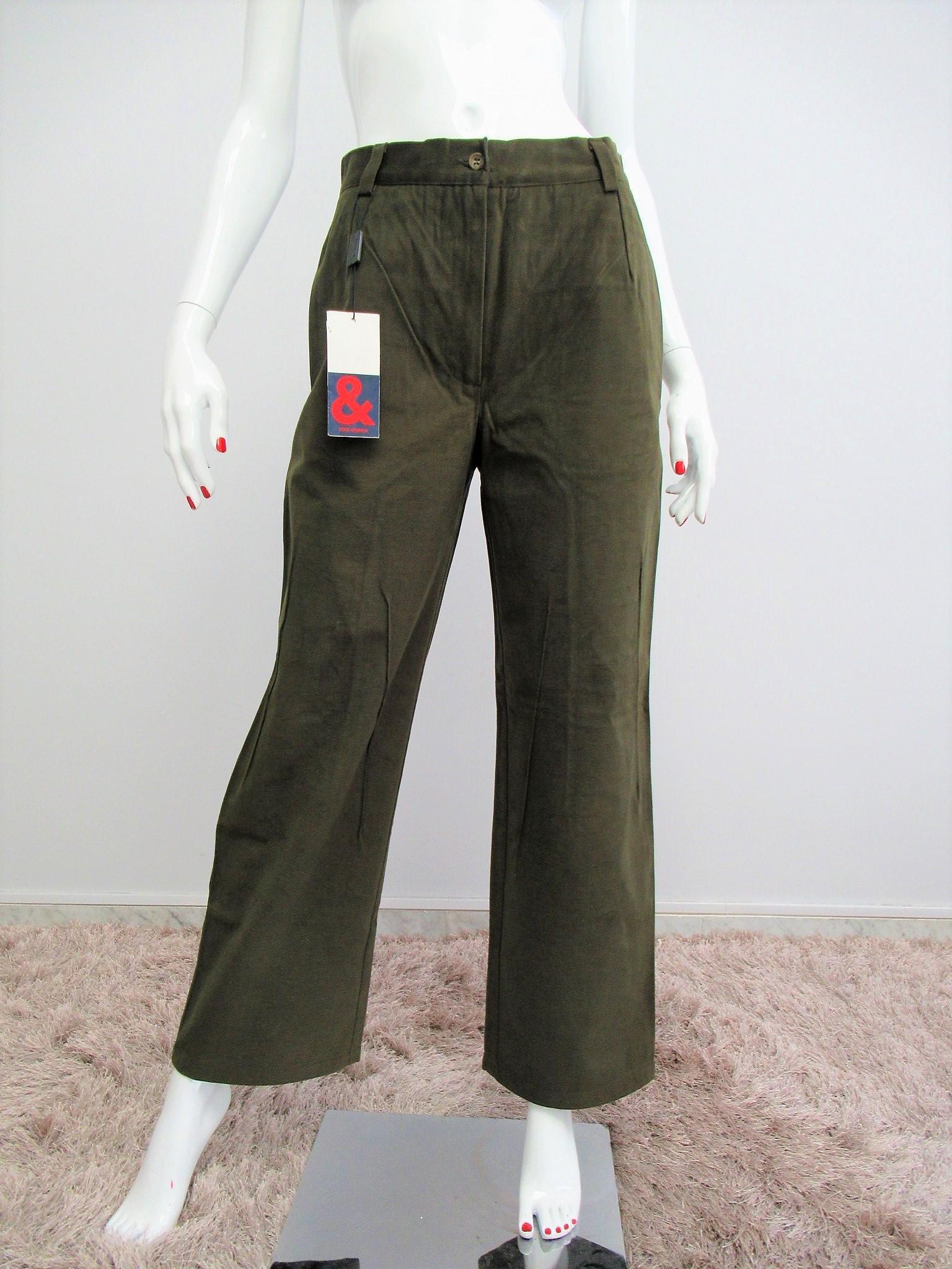 """Dolce & Gabbana"" moleskin trousers size S"