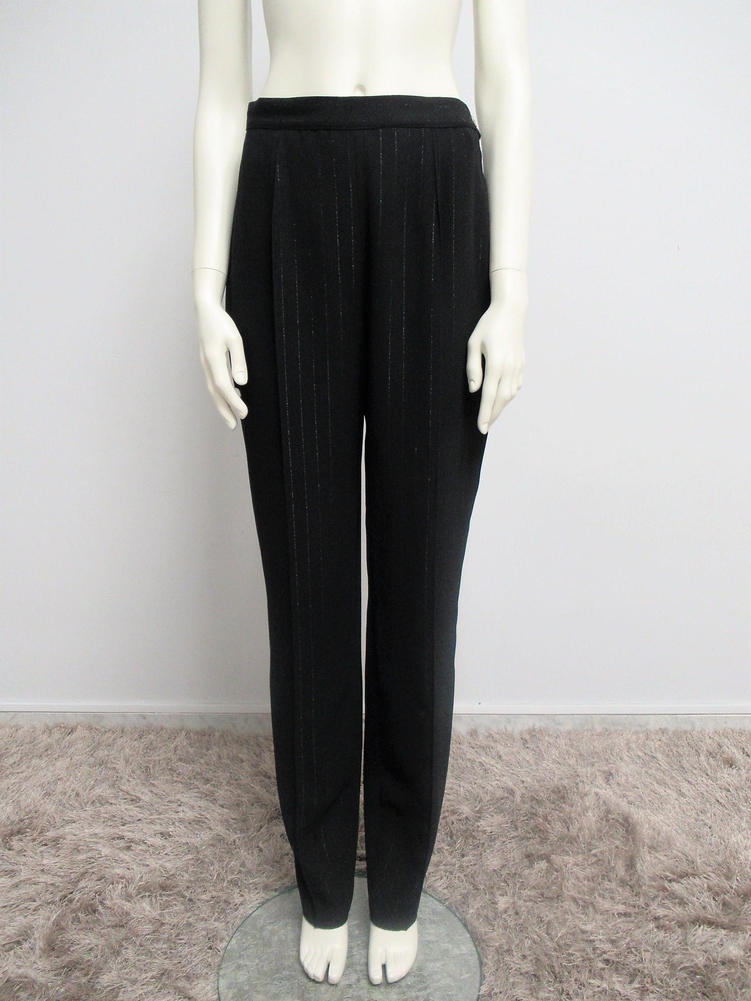 """""""Gianfranco Ferrè Jeans"""" polyester trousers size M"""