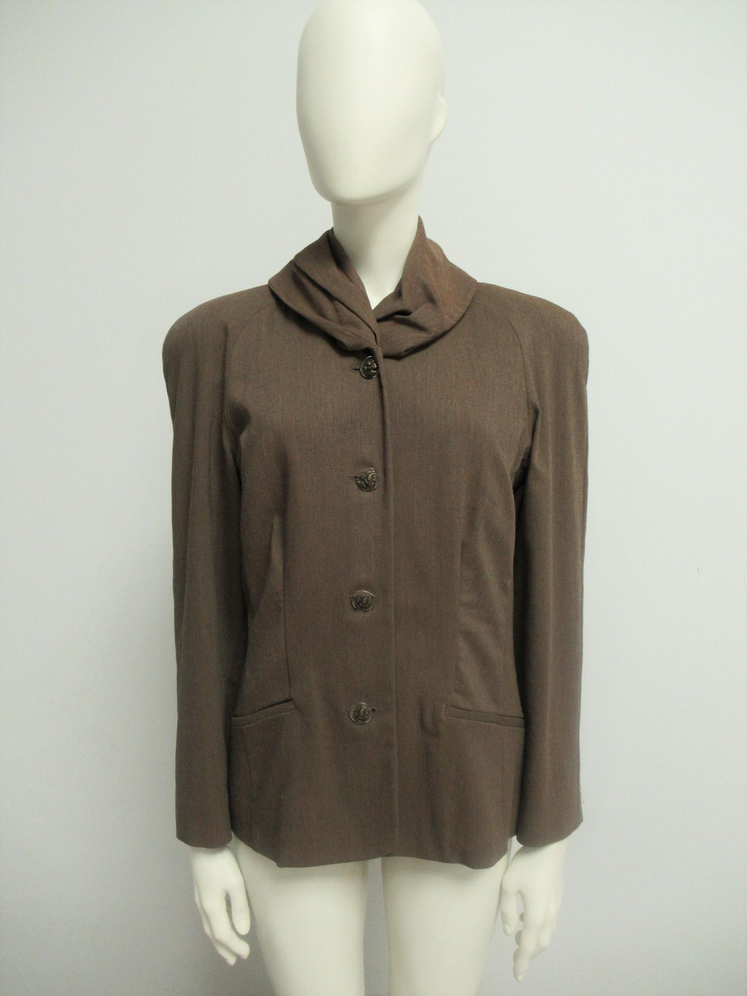 """""""Chiara Boni"""" wool blend jacket, size M"""