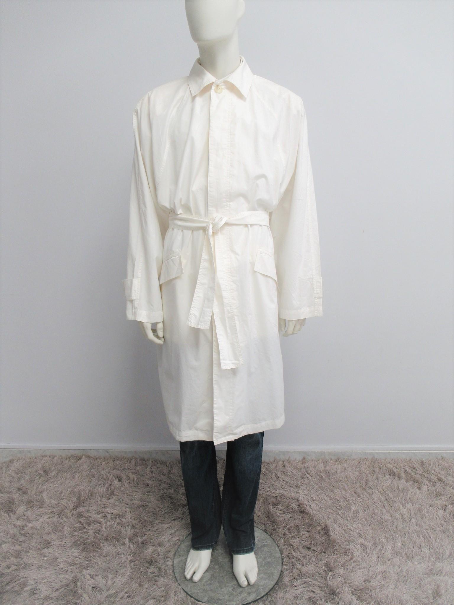 """""""Istante Uomo"""" one size cotton overcoat"""
