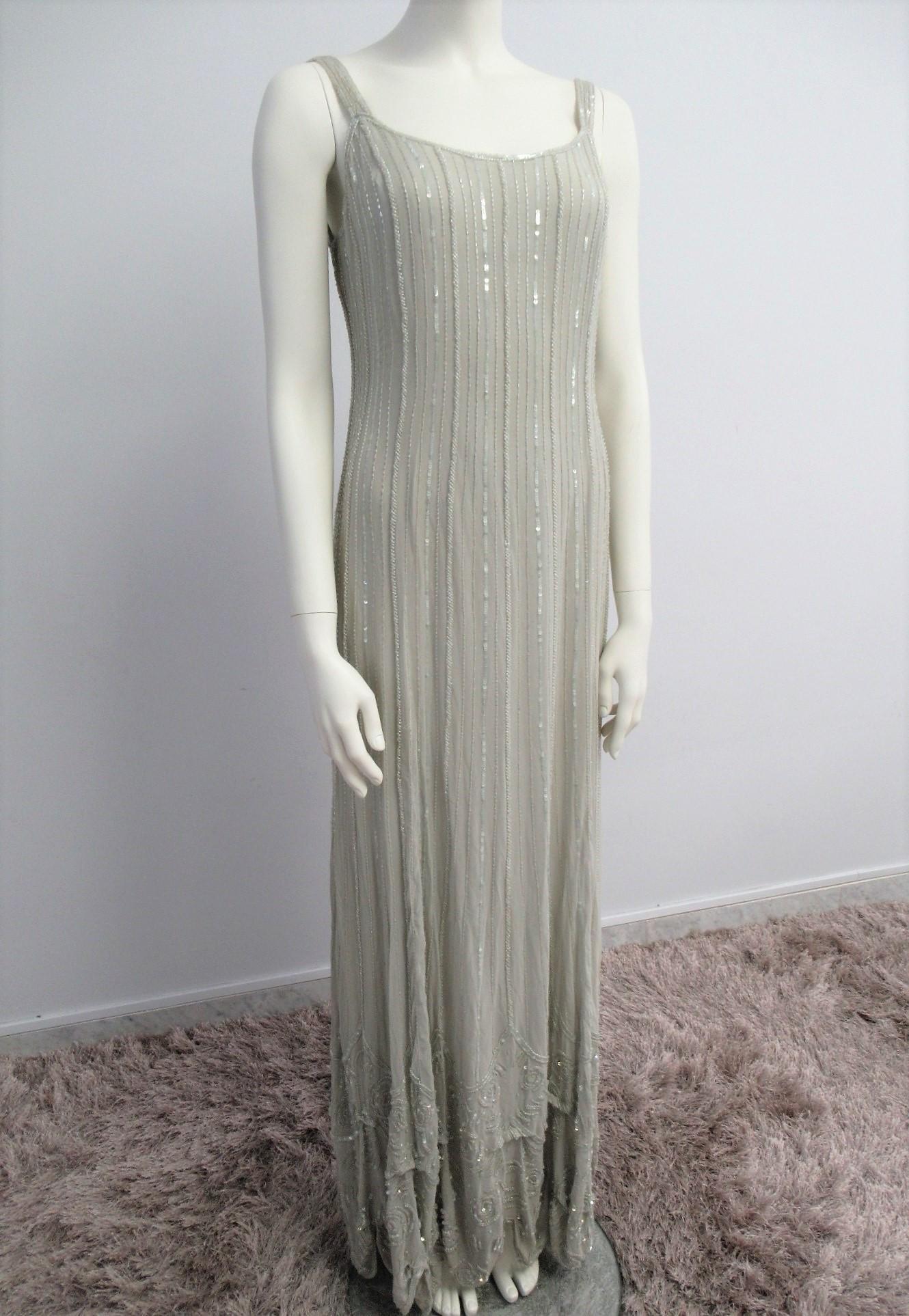 """""""Simon & Simon Pret a Porter"""" dress in pure silk, size"""