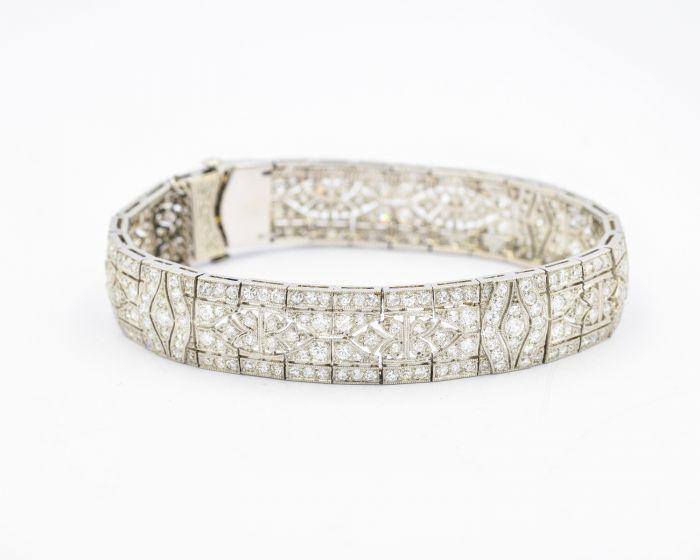 Rare Tiffany & Co Art Deco Platinum and Diamond