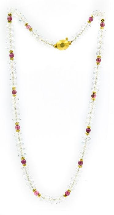 Julius Cohen Contemporary Yellow Gold Tourmaline and