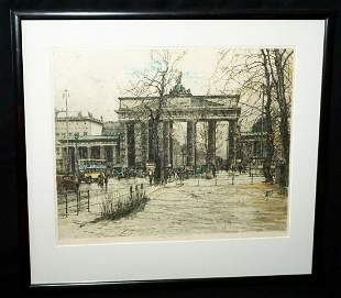 Austria Print Brandenburg Gate Luigi Kasimir
