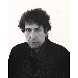 RICHARD AVEDON - Bob Dylan, 9-11-1997