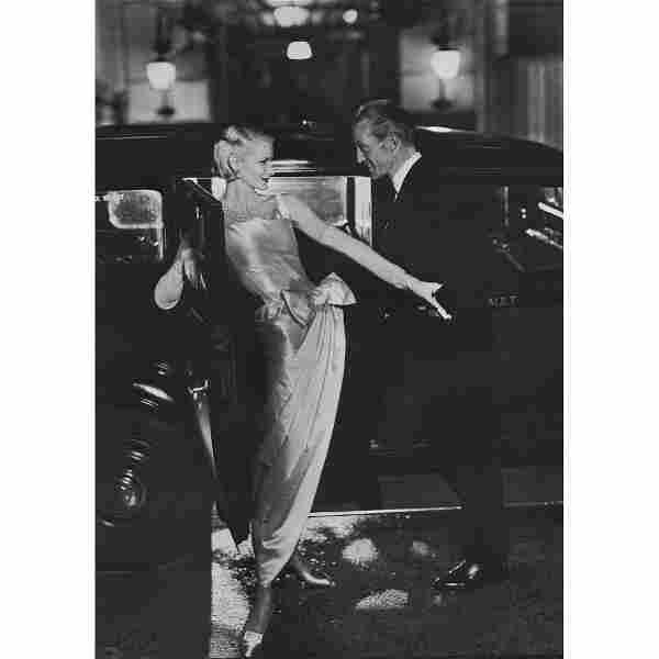 RICHARD AVEDON - Sunny Harnett, Dress by Dior, 1954