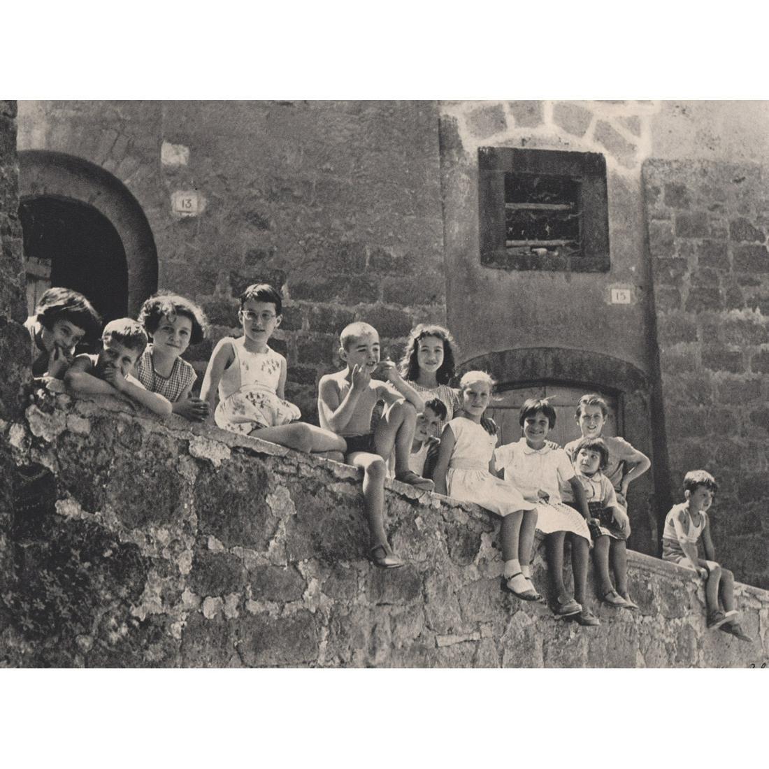 VINCENZO BALOCCHI - Children in Orvieto