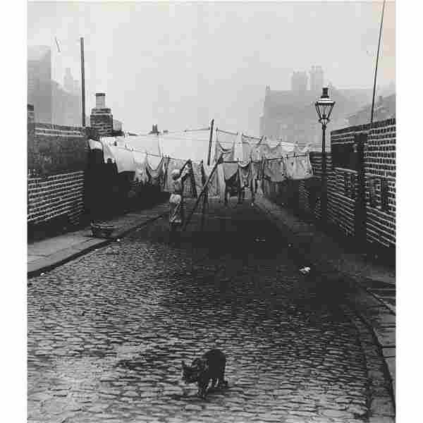 BILL BRANDT - Backstreet in Jarrow, Tyneside