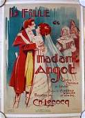 La Fille De Madame Angot 1925 French Comic Opera LB