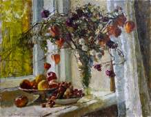 Oil painting Fall Mokhor Yuri Pavlovich