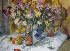 Oil painting Anniversary Still Life I Olishevich