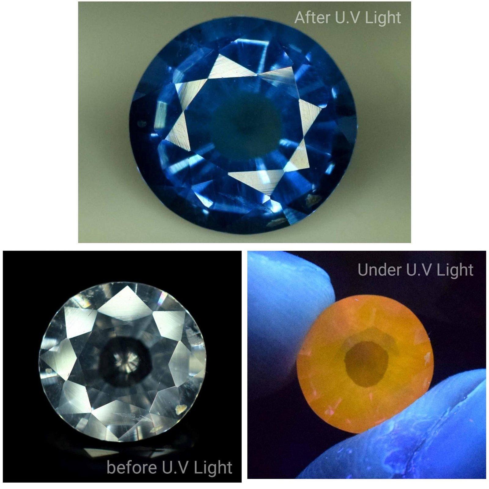 Tenebrescent Scapolite Loose Gemstone - Extremely Rare