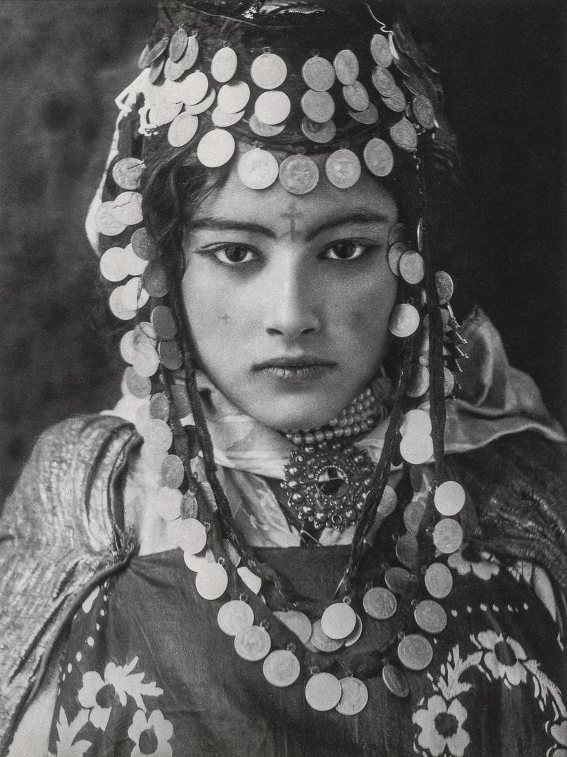 Lehnert & Landrock, Young Tunisian Woman 1905