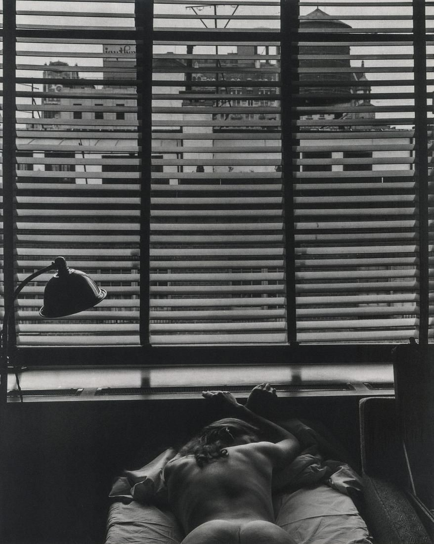 Edward Weston, Nude, New York City, 1941