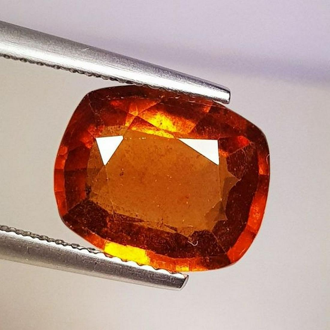 Natural Hessonite Garnet Cushion Cut 4.50 ct