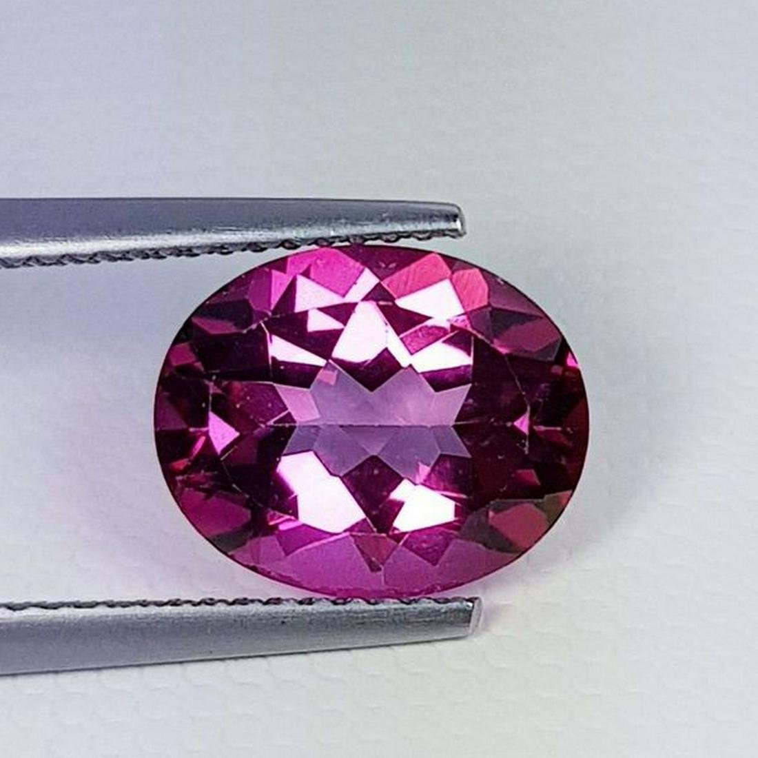 Natural Pink Topaz Oval Cut 4.30 ct