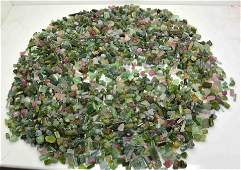 500 Grams Beautiful Tourmaline Rough Crystals Lot
