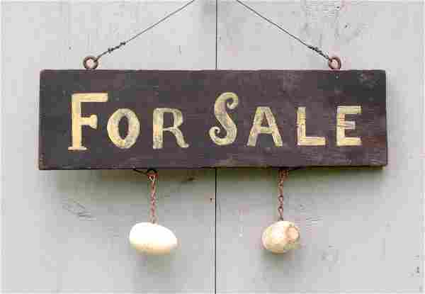 For Sale eggs sign