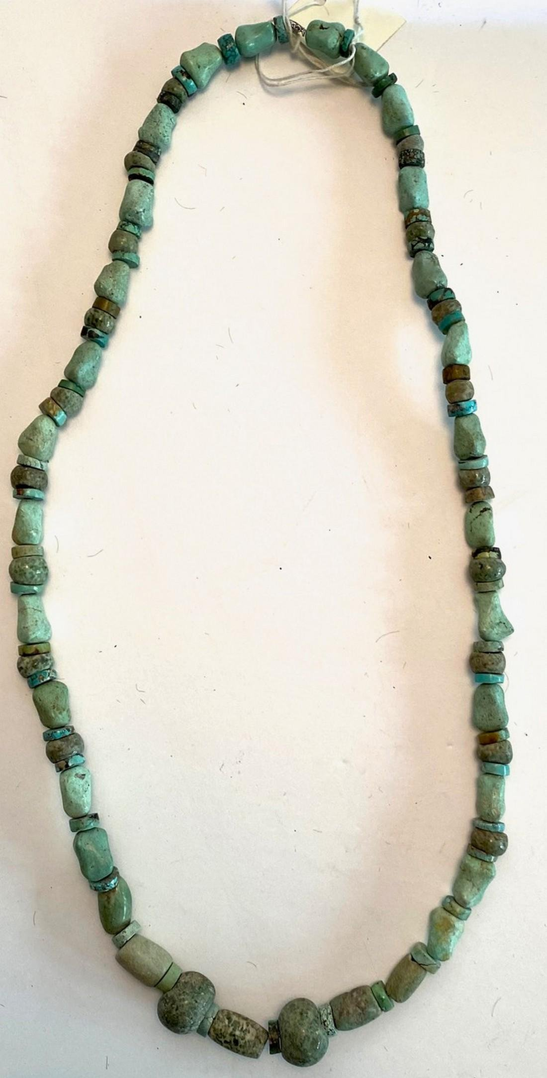 Vintage 1920s Turquoise Necklace