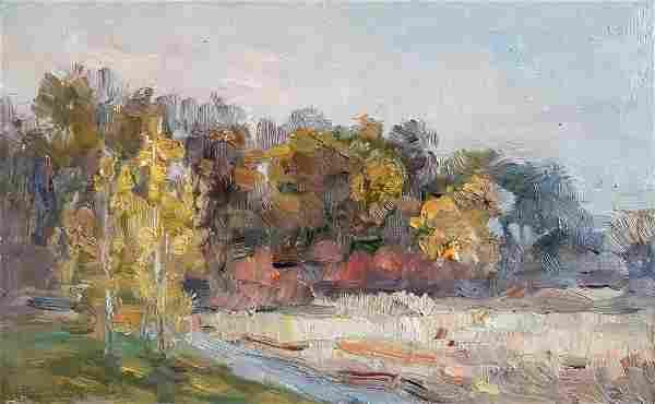 Oil painting Autumn Kovalenko Ivan Mikhailovich