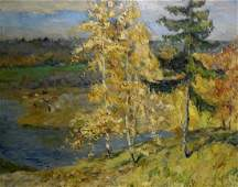 Oil painting Landscape Gavrilov V. N.