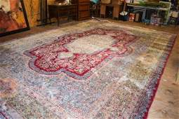 Semi Antique Hand Woven Persian Kermen 117x178