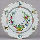 Herend Indian Basket Multicolor Serving Platter #157/FD