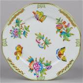 Herend Queen Victoria Dessert Plate #519/VBO III.