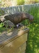 Lifelike bronze pigeon - Garden statues - Garden