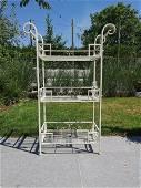 Wrought iron garden rack - Flower rack - garden and