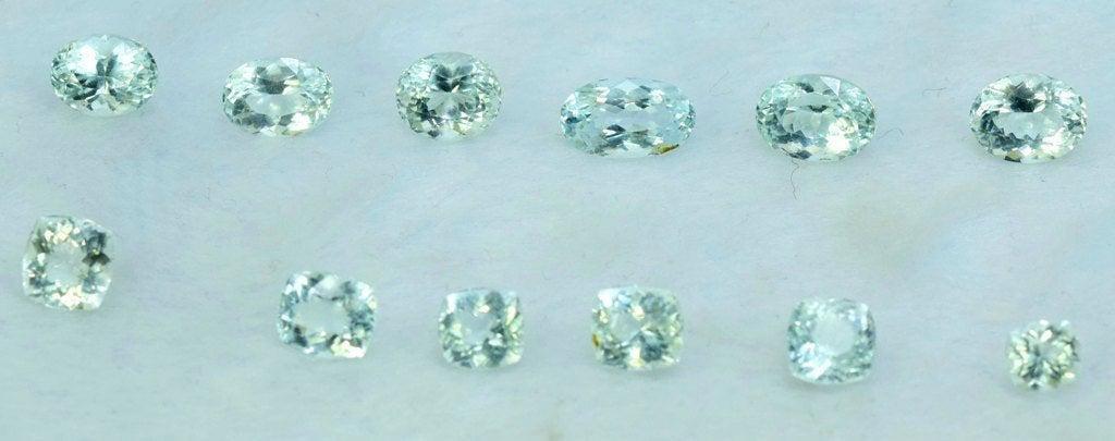 23.30 cts Untreated Aquamarine Gemstones Lot from