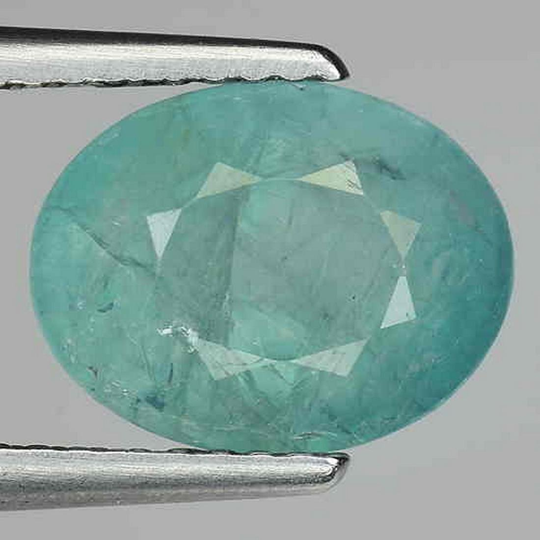 2.70 CTS RARE NATURAL GRANDIDIERITE OVAL SHAPE GEMSTONE