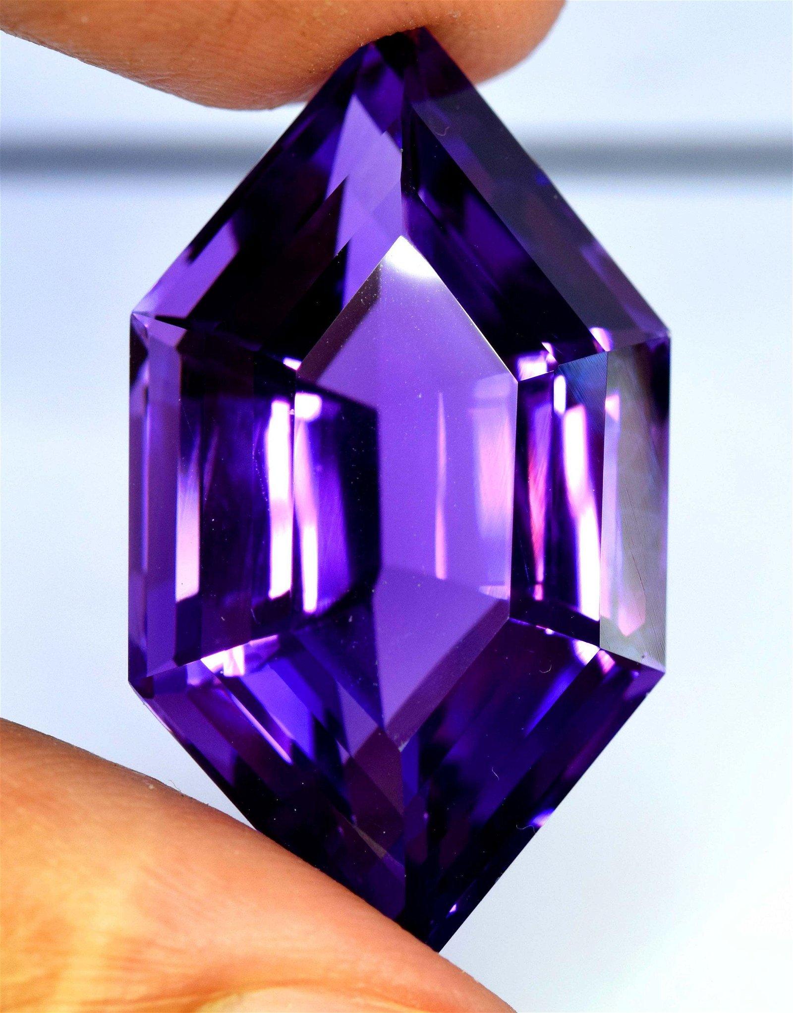 Amethyst Gemstone , Amethyst Cut Stone , Amethyst Stone