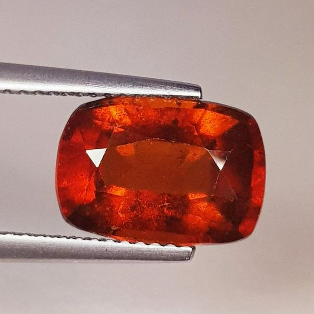 4.99 ctNatural Hessonite Garnet Cushion Cut
