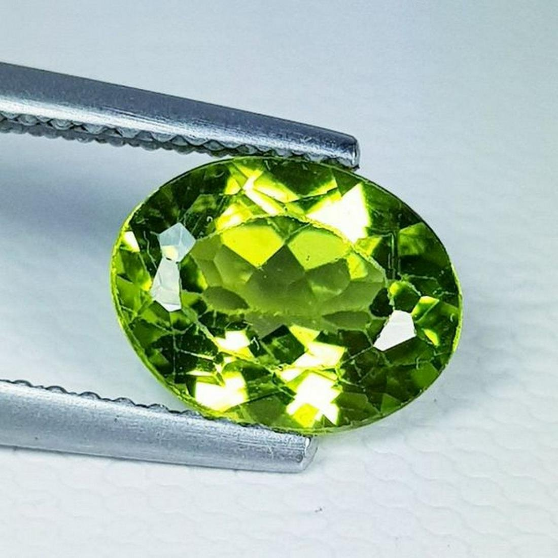 Natural Peridot Oval Cut 1.75 ct