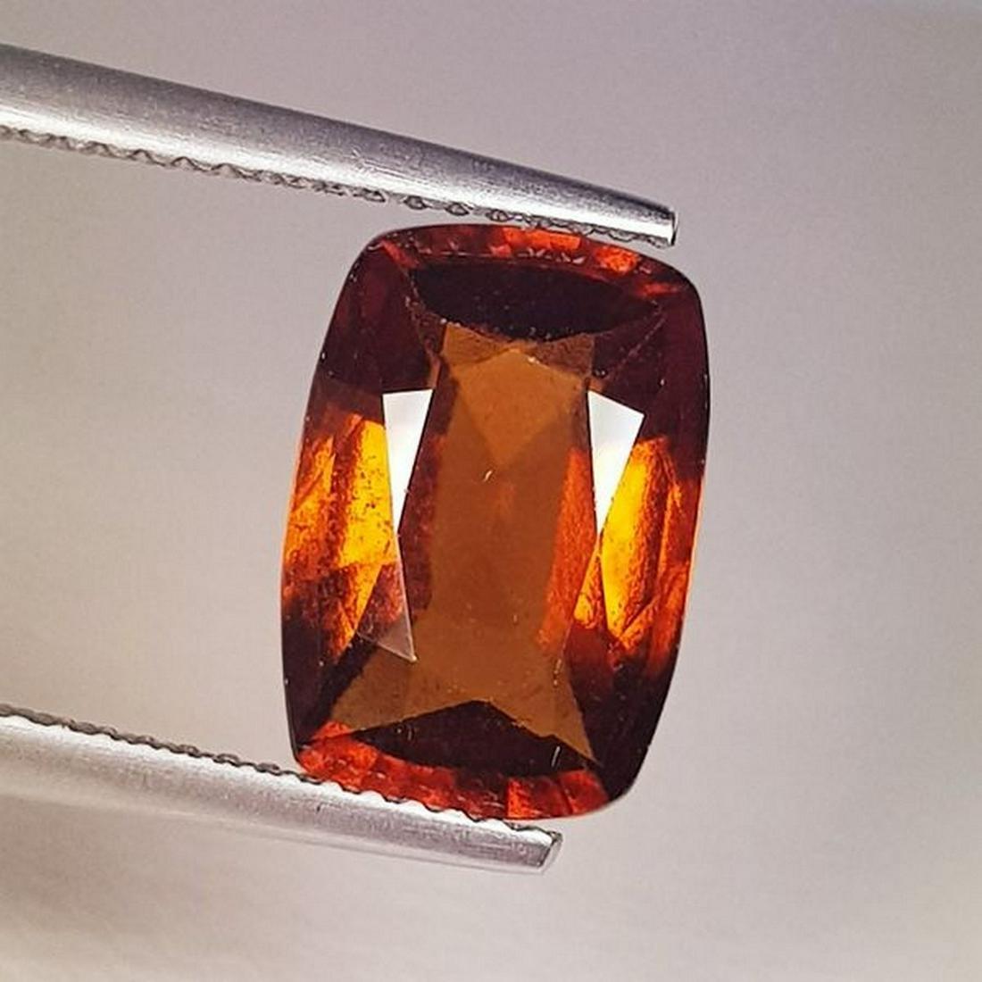 Natural Hessonite Garnet Cushion Cut 4.72 ct
