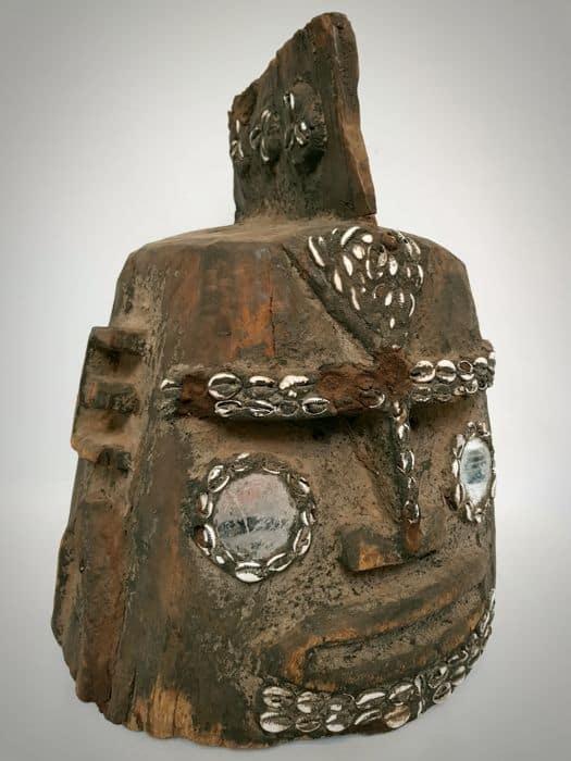 Impressive wooden mask – DOGON – Mali