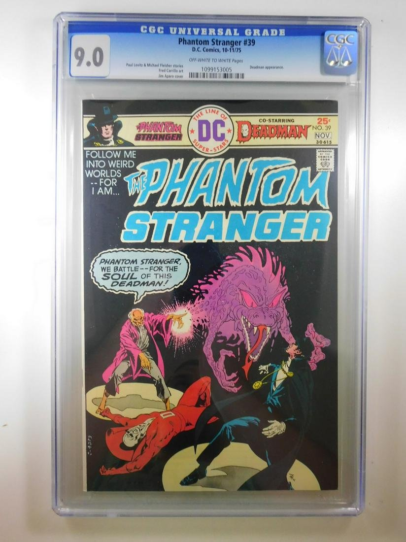 Phantom Stranger #39 CGC 9.0