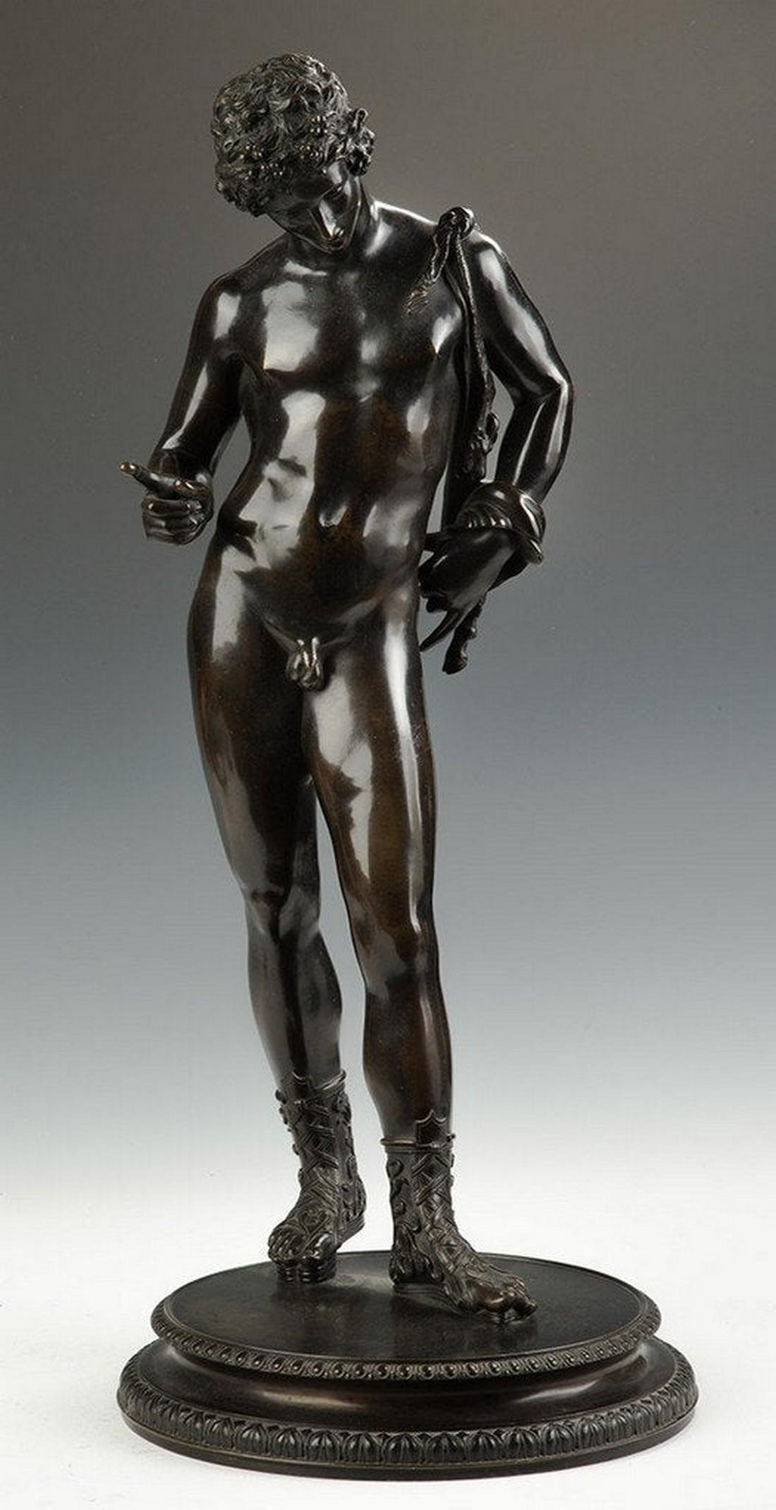 Bronze Sculpture of Greek Male Figure