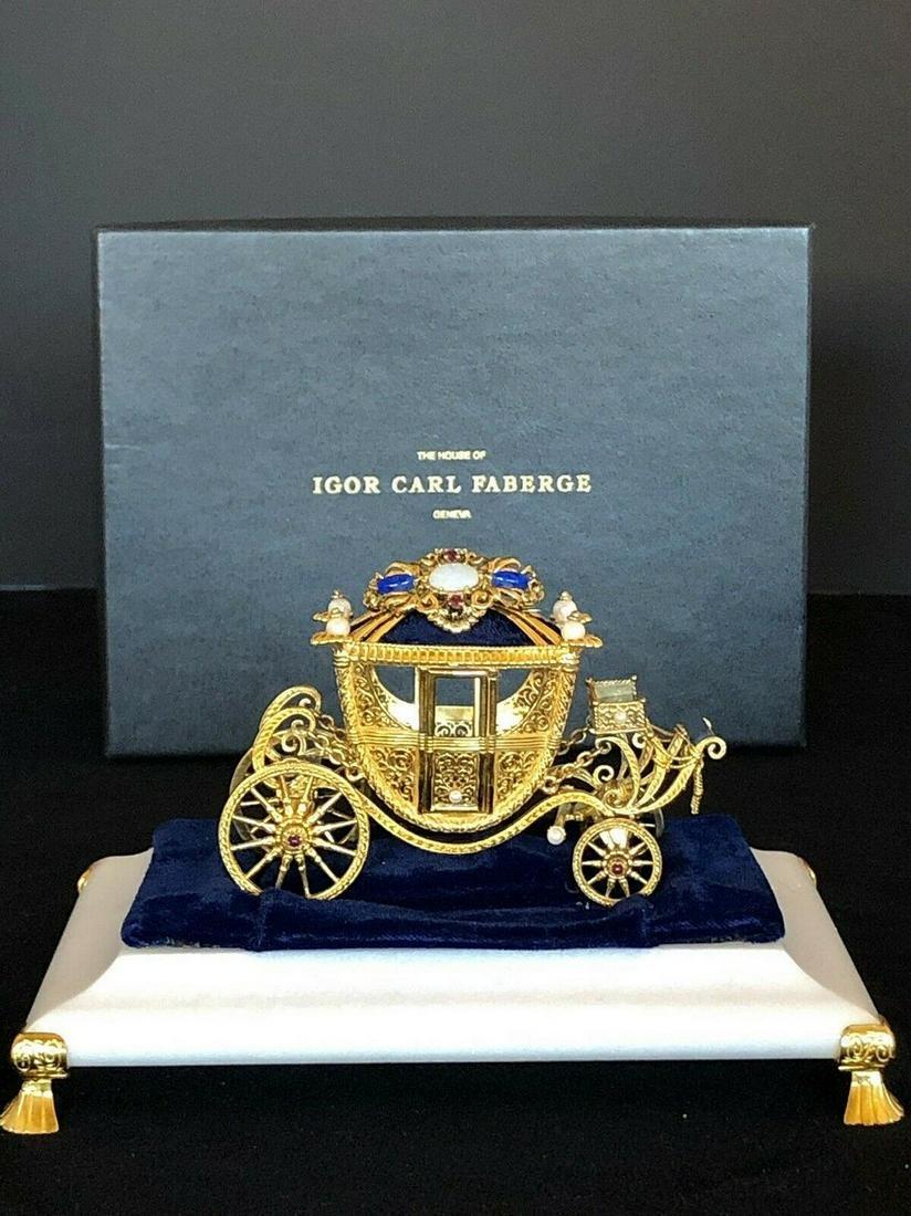 Faberge Franklin Mint Igor Carl Faberge Sterling