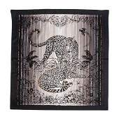 Hermes Limited Edition Jungle Love Rainbow Embroidered