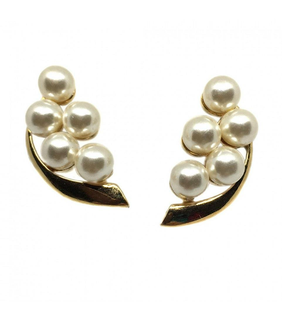 Napier Pearl Cluster Earrings