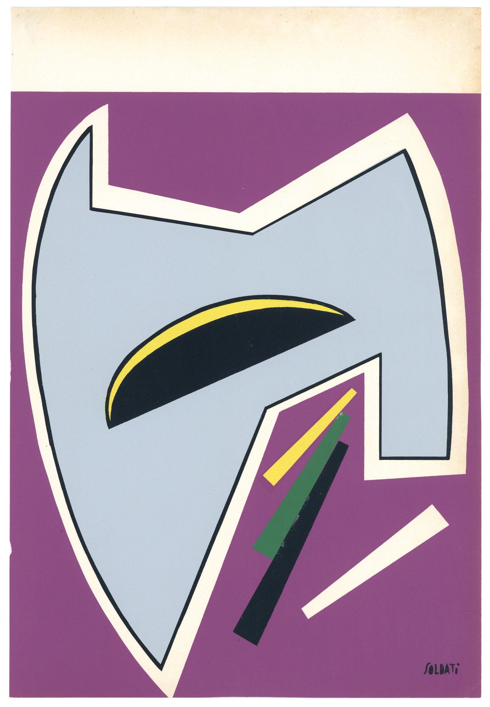 Atanasio Soldati original serigraph | Movimento Arte