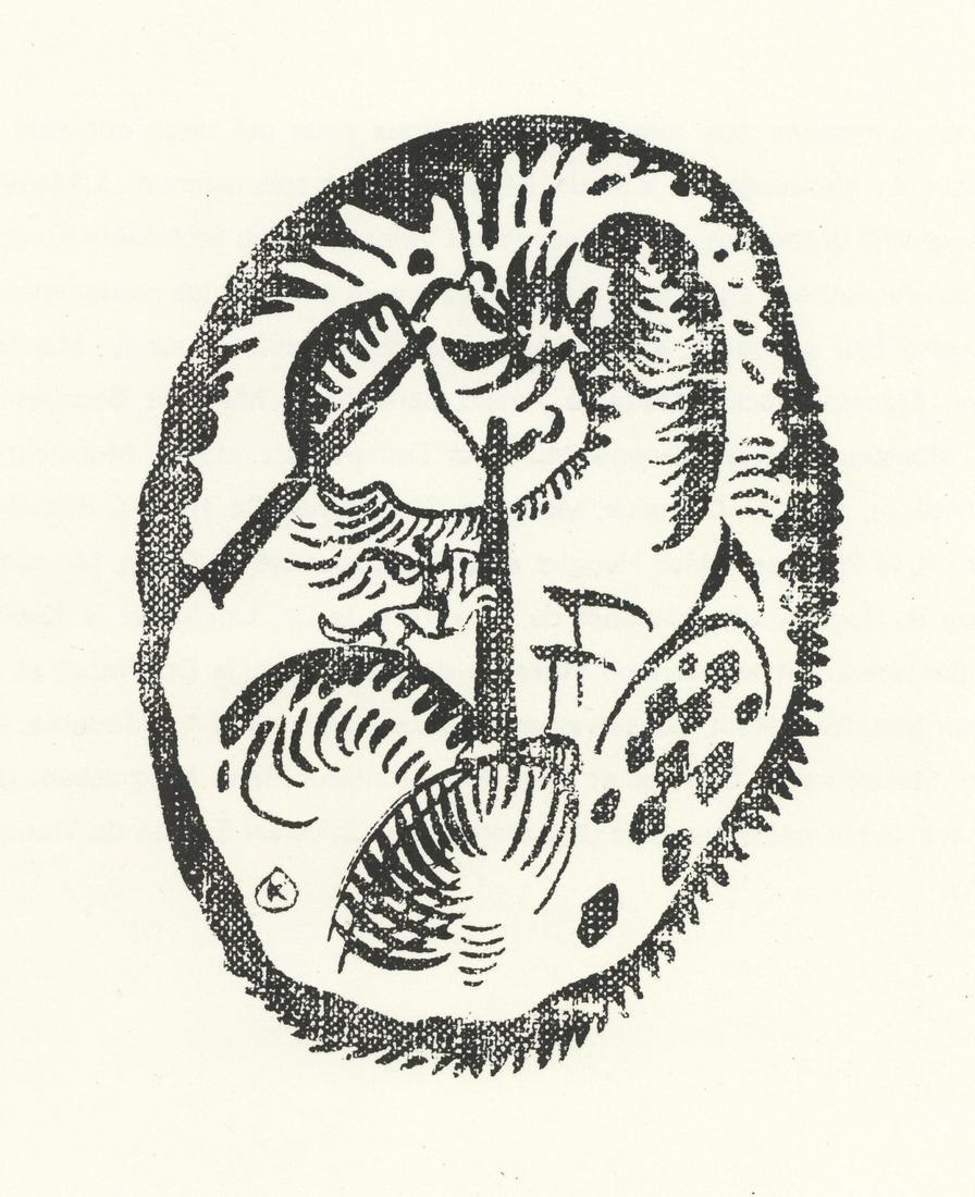 Wassily Kandinsky lithograph Der Blaue Reiter