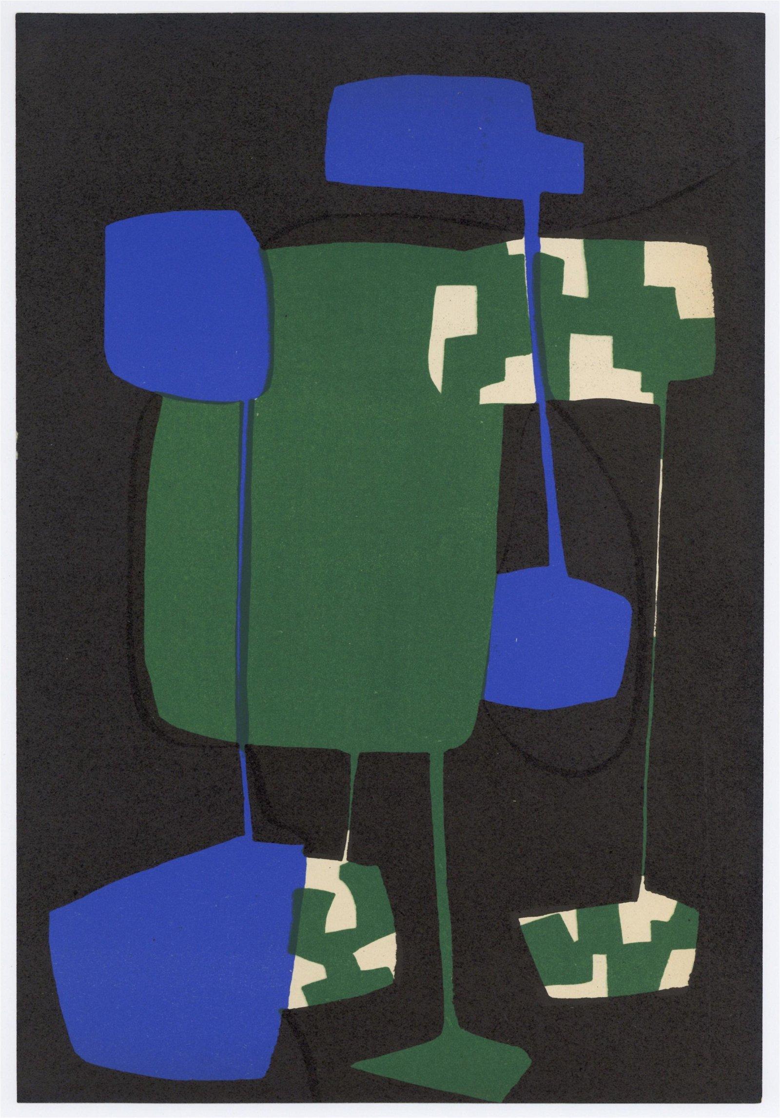 Carol Rama original lithograph | Arte Concreta,